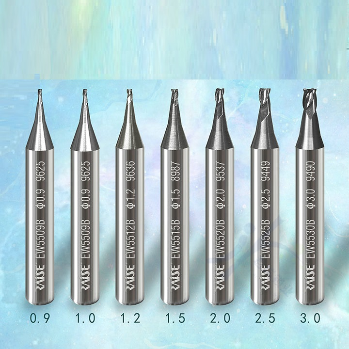Raise Carbide End Milling Cutter For ALL Key Cutting Machine Parts Accessories Sets Drill Bits Locksmith Tools