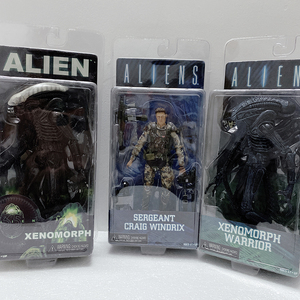 Alien Figure Sergeant Craig Windrix Xenomorph Warrior Alien Neca Predator Action Figure Model Toy Doll