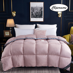 Chpermore 100 % White Goose/Duck Down Quilt Duvets Thick warm Winter Comforters 100% Cotton Cover King Queen Twin Full Size