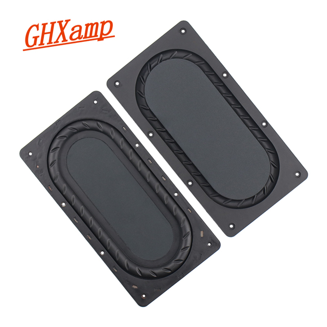 GHXAMP 175MM*90MM Bass diaphragm Low Frequency Radiator 5 Inch 6 Inch Passive Bass Film Enhanced Bass 2Pcs