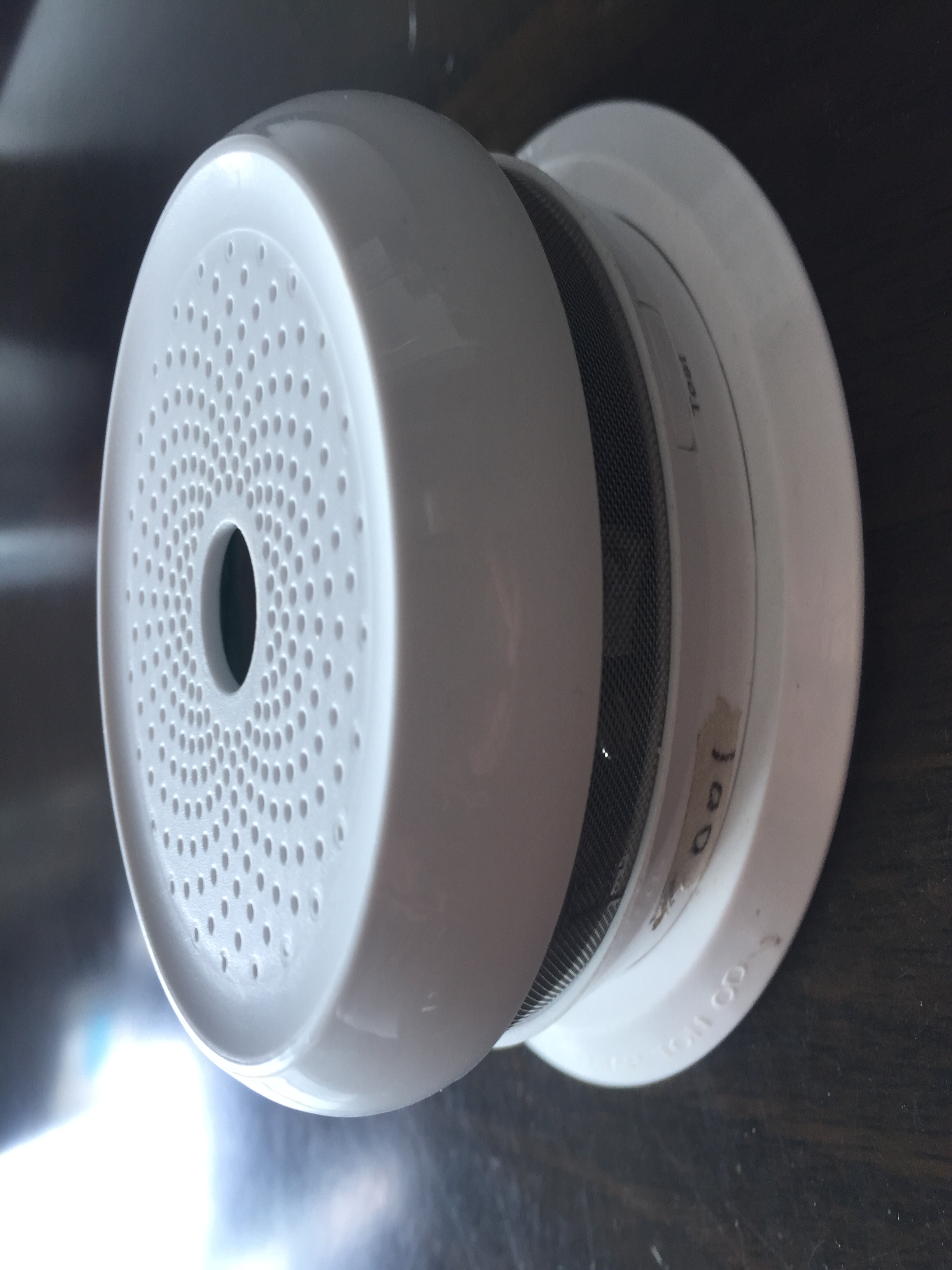 ZigBee WIfi Smart Temperature Smoke  And Humidity Detector App Alarming Sensor