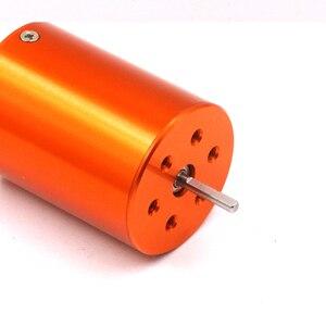Image 4 - FATJAY 4 pole sensorless motore brushless inrunner 2838 2800KV 3800KV per RC auto barche 380 390 Aggiornamento del motore