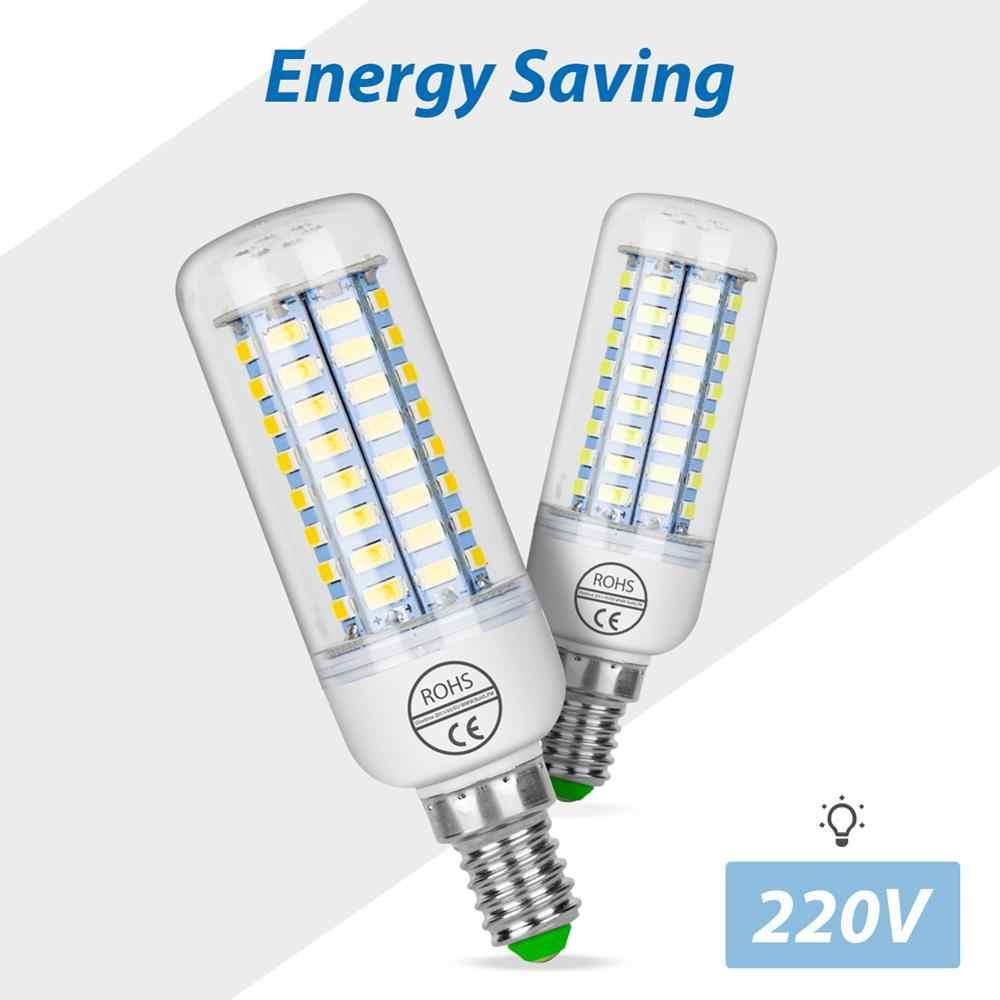 E27 トウモロコシ電球 LED ランプ E14 220V アンプル GU10 LED 電球 G9 24 36 48 56 69 72led bombillas B22 ホーム光 5730 シャンデリアキャンドル