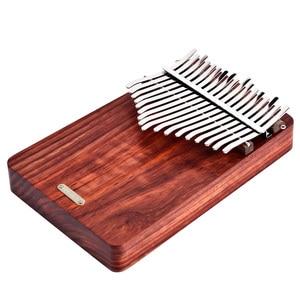 Image 3 - LingTing LT K17A17 keys Kalimba Mbira Thumb Piano(wind whisperer)