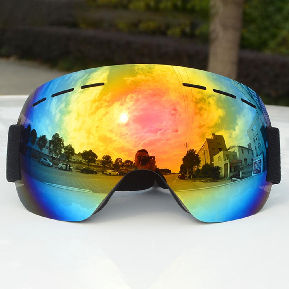 Winter Outdoor Windproof Ski Goggles Goggles Anti-fog UV Protection Glasses