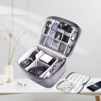 Travel Cable Charger Wire Bag Portable USB Gadget Line Machine Earphone Organizer Charging Cable Storage Pouch Case Accessories portable power source storage bag usb data cable organizer digital charger storage bags earphone pouch outdoor travel kit case