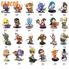 jax jinx Leona Gragas KhaZix Darius thresh Heimerdinger Lulu Tristana Poppy Nautilus 10cm/3.9 LOL Figures Model Toys