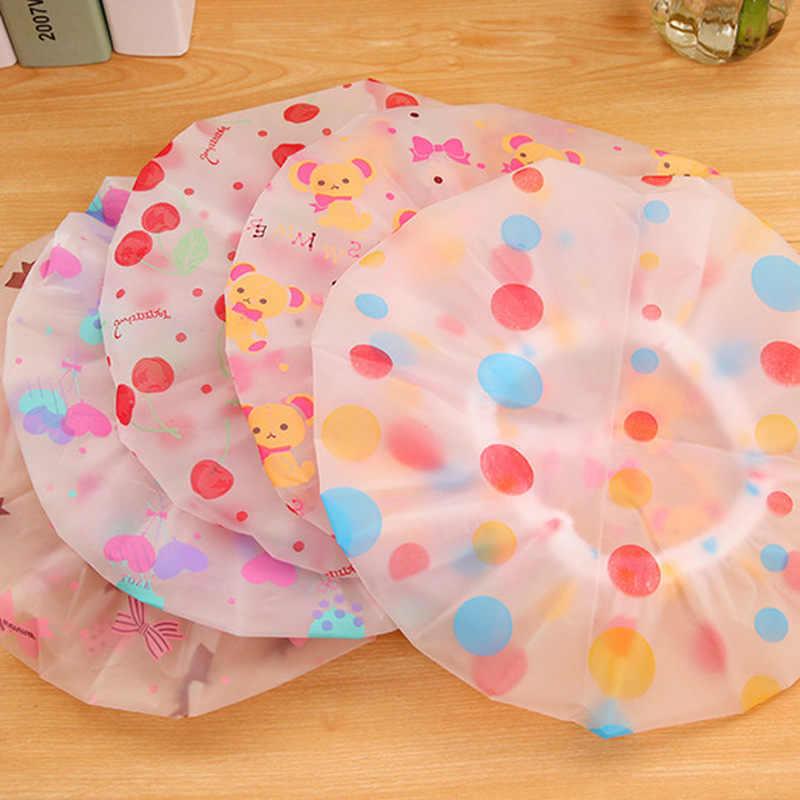 Cuffie per la doccia Impermeabile Del Fumetto Cuffia per la doccia Adulto Cuffia Per la doccia Modelli Femminili Costume Da Bagno Cap