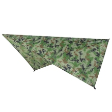 Ultralight Tarp Outdoor Camping Survival Sun Shelter Shade Awning Silver Coating Pergola Waterproof Beach Tent-Camouflage цены онлайн