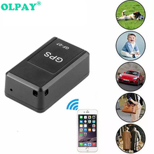 Mini GF07 GPS Tracker Vehicle Strong Magnetic Free Installation GPS Tracking Locator Personal Tracking Object Anti Lost Tracer 2017 waterproof car tracking locator vehicle gps tracker c1 strong magnetic gps anti loss system for car burglar alarm devices
