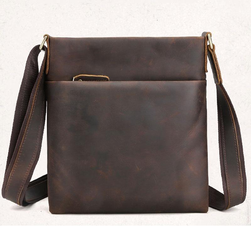 Male's Real Leather Tote Bag Men Briefcase Brand Business Hand Bag Casual Men Shoulder Bag Laptop Briefcase Male Handbags Bags