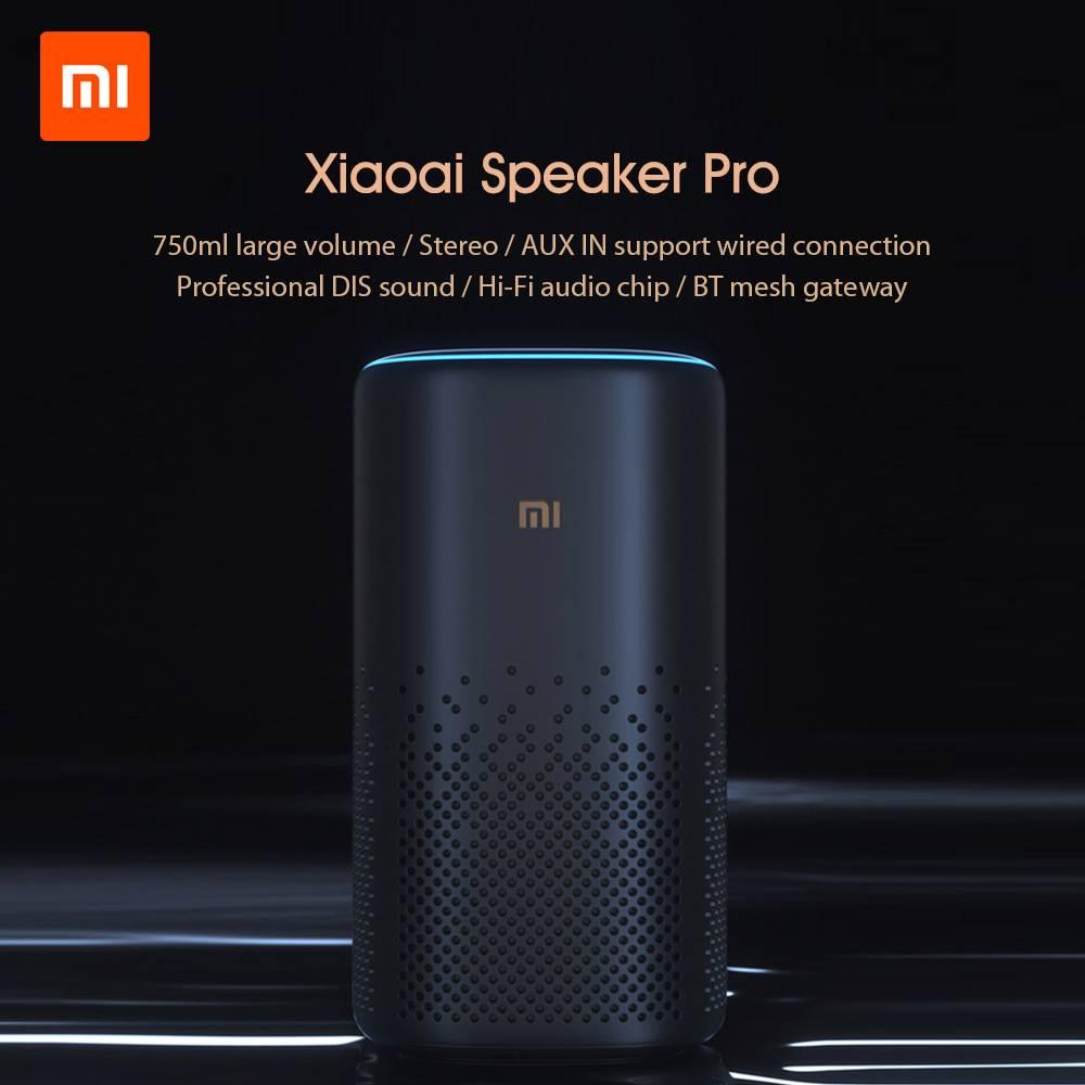 Original Xiaomi Xiaoai Pro haut-parleur AI bluetooth HiFi Audio sans fil maille passerelle stéréo contrôle infrarouge Mi haut-parleur contrôle APP