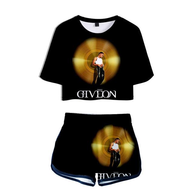 SET GIVEON 3D SHORT + T-SHIRT (9 VARIAN)