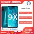 Глобальная версия Honor 9X Lite смартфон 4G 128G 48MP камера Kirin 710 6,5 ''мобильный телефон Android P GPU Turbo 3,0 NFC