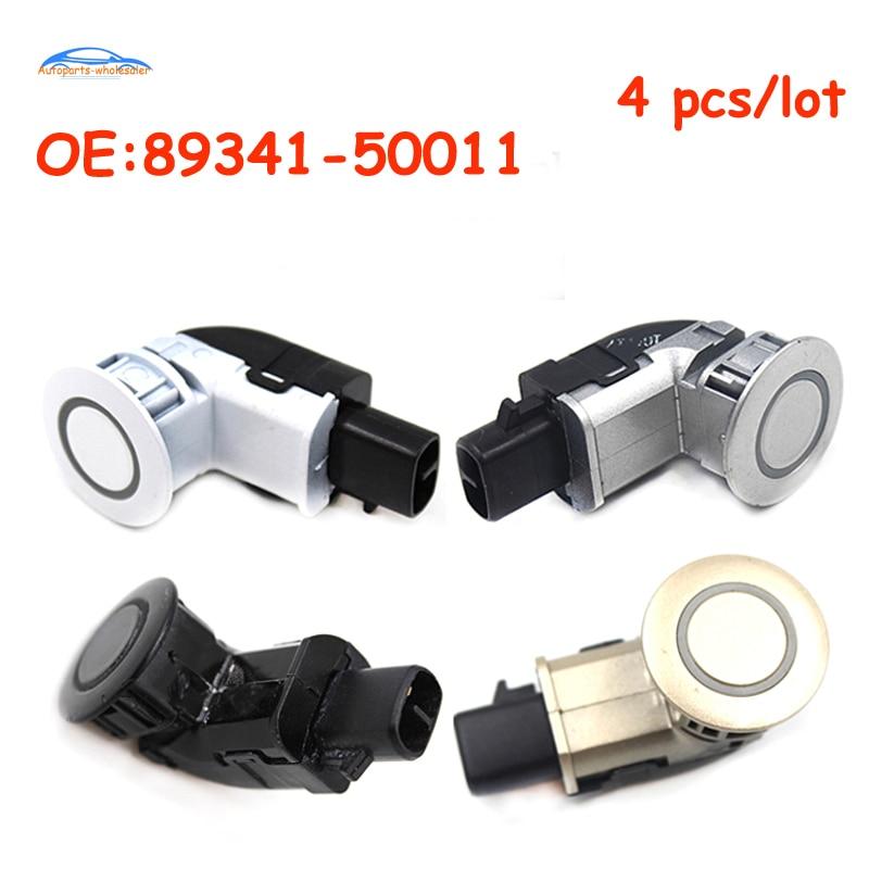 4PCS 89341-50011-B0 PDC Ultrasonic Parking Sensor For Lexus LS430 2001-2006
