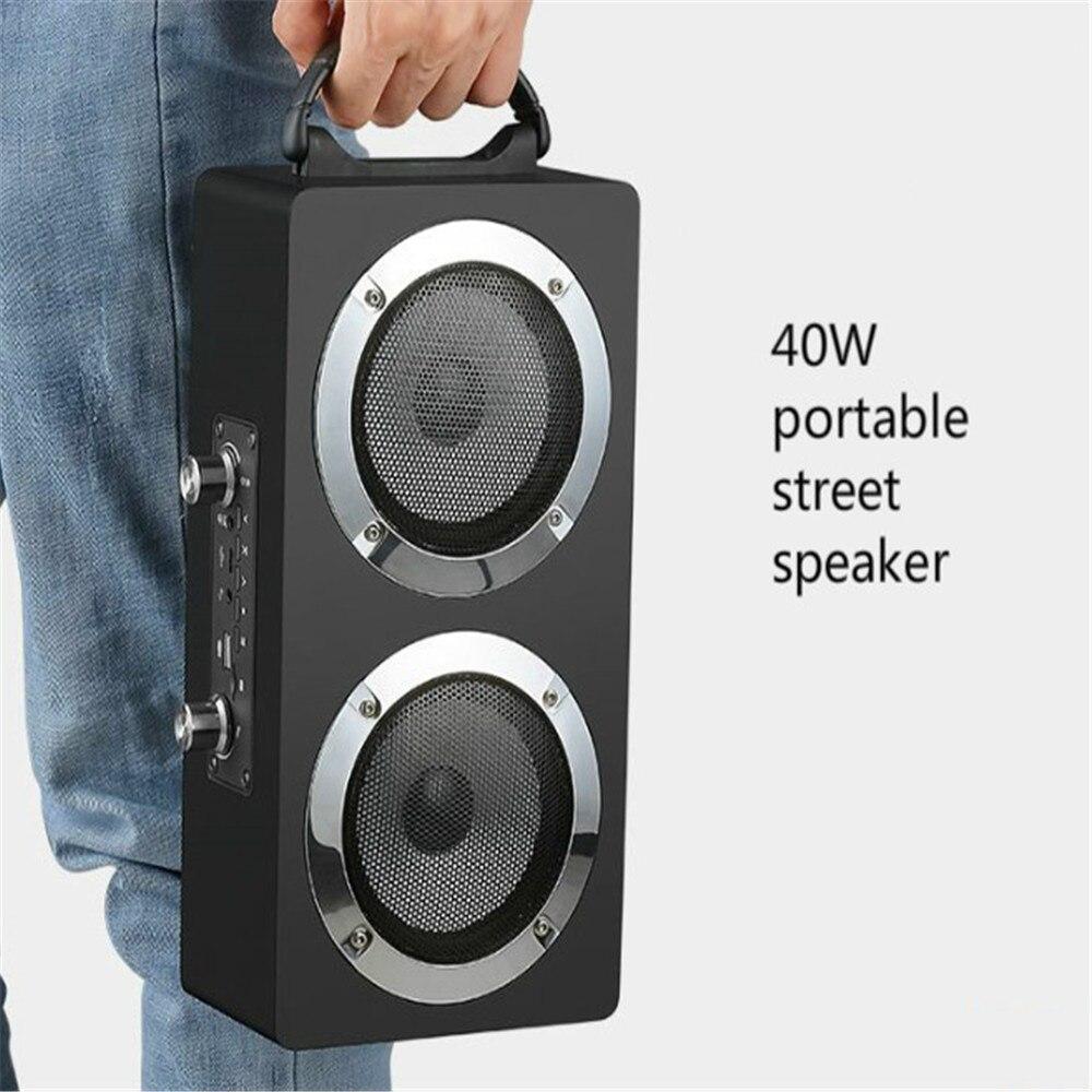Bluetooth colonne Radio centre de musique système acoustique Boombox haut-parleur Bluetooth haute puissance barre de son système de son haut-parleurs de basse