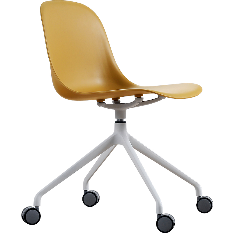 Nordic Computer Chair Game Creative Rotating Home Comfortable White Back Simple Fashion Study Office Chair