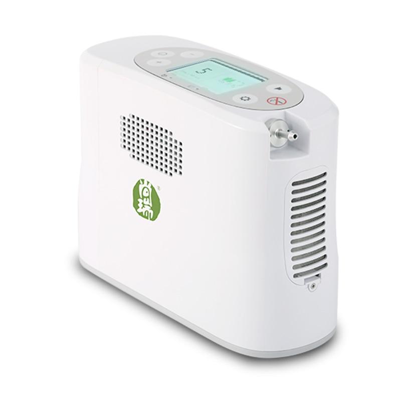 Image 3 - Portable medical grade oxygen concentrator generator mini 5L  oxygen generator machine household elderly outdoor travel carOxygen  Machine