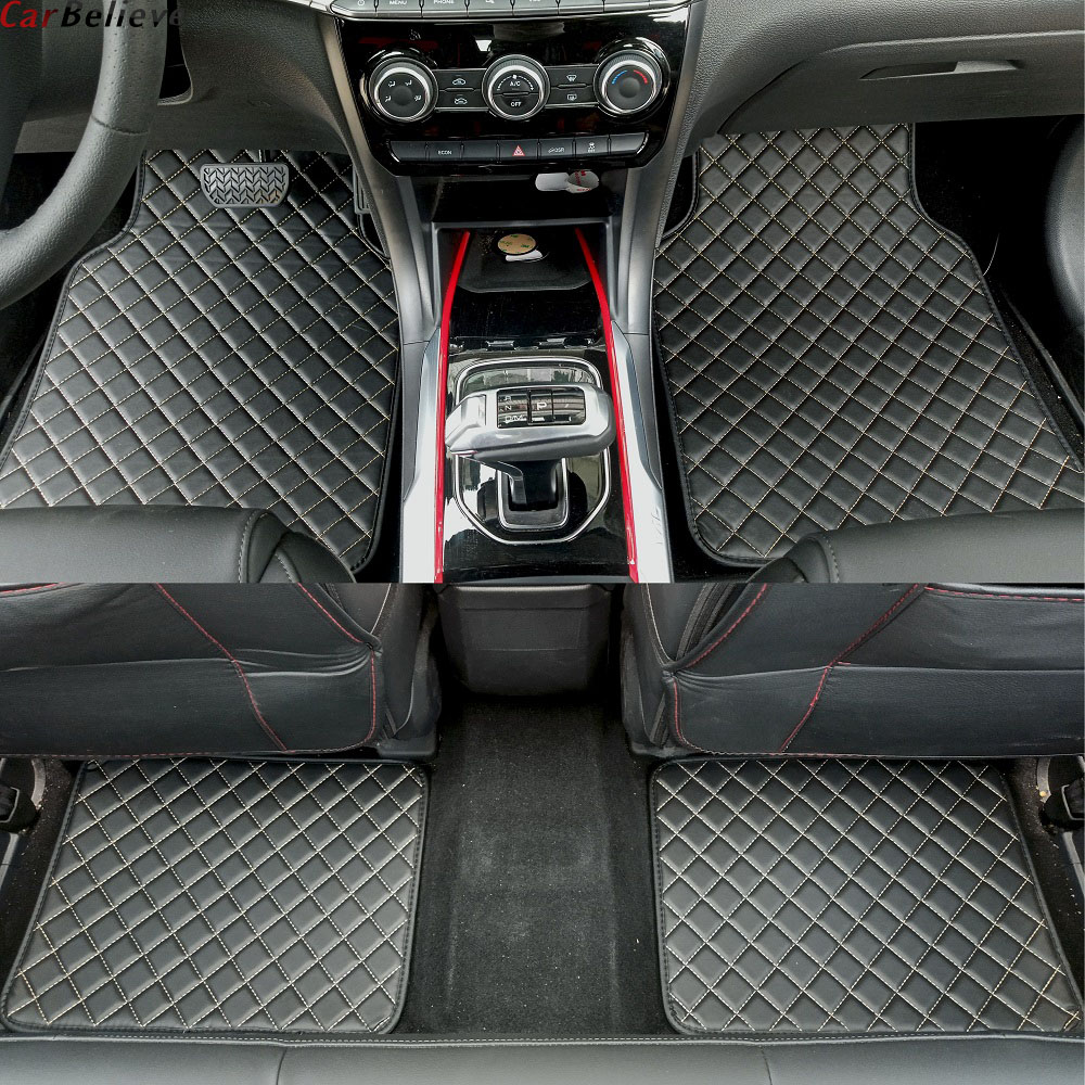 Car Believe car floor mat For LADA vesta niva 4x4 2114 <font><b>2113</b></font> 2107 2121 xray Granta kalina priora 2 accessories carpet rugs image