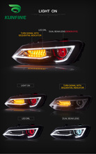 Car Styling Car Headlight Assembly For Volkswagen VW Polo mk5 2011 2017 LED Head Lamp Car Tuning Light Parts Plug And Play