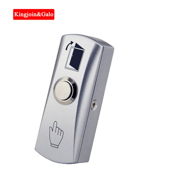 Zinc Alloy GATE DOOR Exit Button Exit Switch For Door Access Control System Door Push Exit Door Release Button Switch free shipping 92x29mm access control system dc 12v metal shell door release exit button out door switch