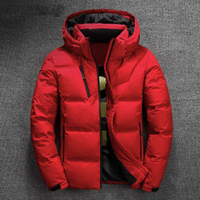 ZOZOWANG High Quality White Duck Thick Down Jacket men coat Snow parkas male Warm Brand Clothing winter Down Jacket Outerwear saiqi white duck down jacket for women light camping jacket female hiking coat short outerwear female outdoor brand top clothing
