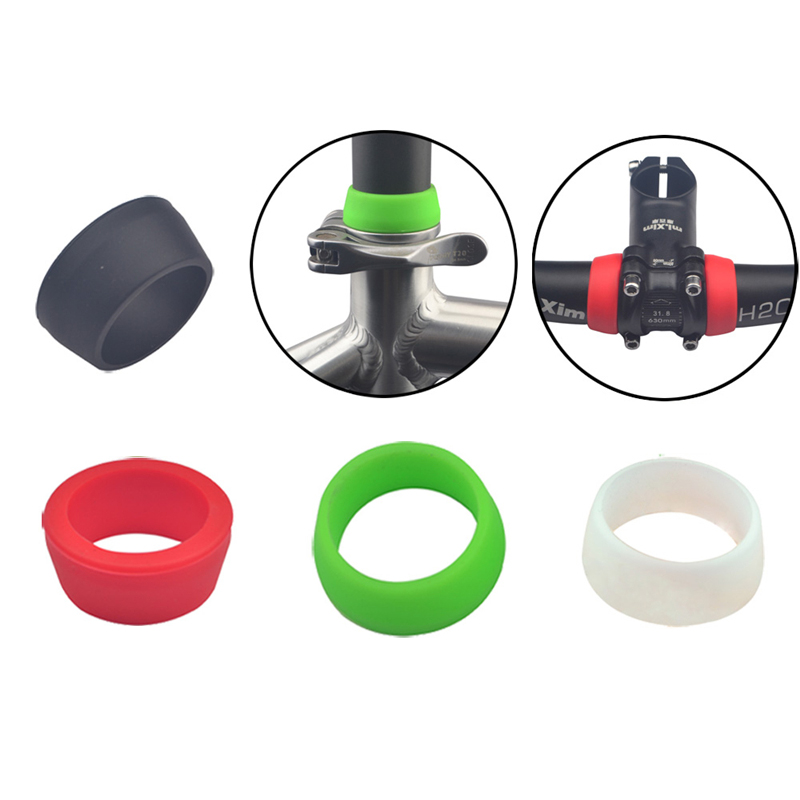Waterproof Dustproof Bicycle Silicone Seatpost Cover Ring Small/Big MTB Road Bike Seat Rubber Ring Protection Bicycle Protective
