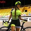 Kafitt pro equipe triathlon conjunto camisa de ciclismo feminino uma peça macacão manga curta macaquinho conjunto feminino gel almofada 2
