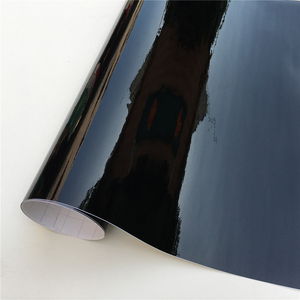 Высокое качество, глянцевая черная виниловая пленка, черная глянцевая пленка, Воздушная пузырчатая пленка, бесплатно для транспортных сред...