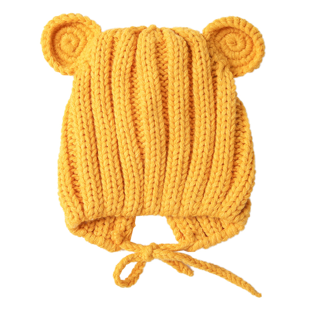 Baby's Winter Hat with Ears 3