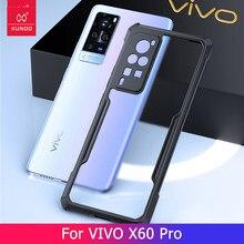 Do futerału VIVO X60 X60 Pro, pokrowiec na telefon Xundd-z technologią poduszki powietrznej, ekranem i aparatem ochronnym etui na VIVO X60 X60 Pro