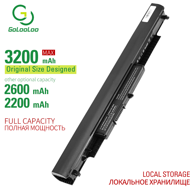 Golooloo 4 Cells Laptop Battery For Hp Pavilion 15-af0XX 15g-ad0XX 15q-aj0XX HS03 HS04 HSTNN-LB6V HSTNN-LB6U