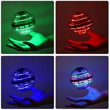 Toys Spinner Flying-Ball Rgb-Lights Boomerang Magic Flynova Pro Lights-Control Kid Dynamic