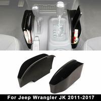 GearTray Gear Shifter Console Side Storage Box Manual Transmission Side Organizer Tray For 2011 2018 Jeep Wrangler JK JKU|Stowing Tidying| |  -