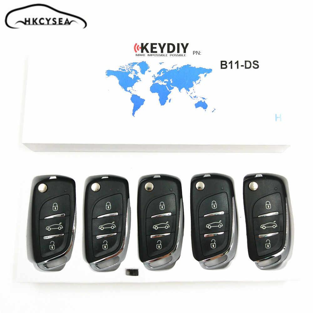 Hkcysea 5 ピース/ロット keydiy B11 3 ボタンリモートキー URG200/KD900/KD200/KD-X2 キープログラマー