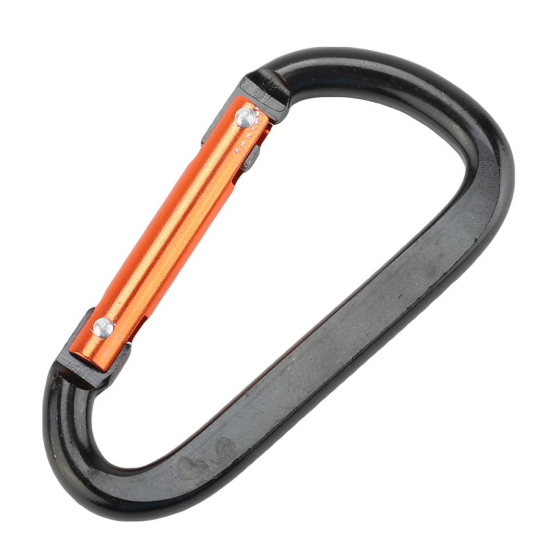 Carabiner Clip Aluminum Alloy Outdoor Safety Buckle Keychain  Balance Carabiner Clasp Outdoor Climbing Mountaineer D Shaped Hook