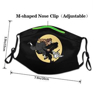 Гарри любит подарки фильмы книги Поттер-влюбленные маска для лица моющаяся маска для рта хлопок mascarilla повторно использовать Модный новый т...