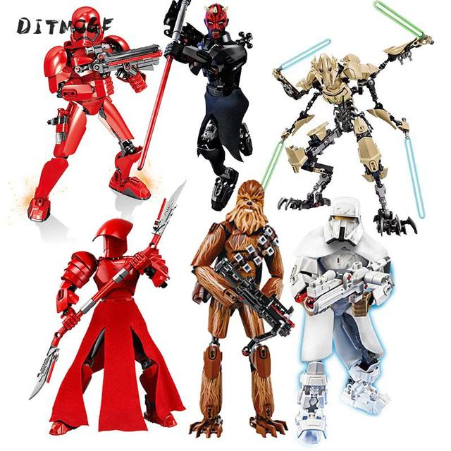 In Stock Star Wars Bionicle Hero Factory Star Warrior Buildable Figures Soldier Building Blocks Bricks Kits Children Toys