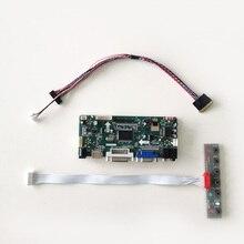 "Для B101AW01 HSD101PFW1 WLED 1024*576 10,"" HDMI+ VGA+ DVI Ноутбуки ЖК-экран LVDS 40Pin M. NT68676 монитор контроллер карты DIY комплект"