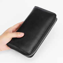 Waterproof RFID Anti Theft Wallet Credit Card Wallet Holder Antimagnetic Cards Holder Wallet Business Long Wallet цена и фото