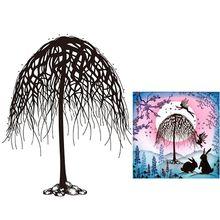 Дерево силиконовый прозрачный печать штамп DIY Скрапбукинг рельефная фотография альбом декоративный