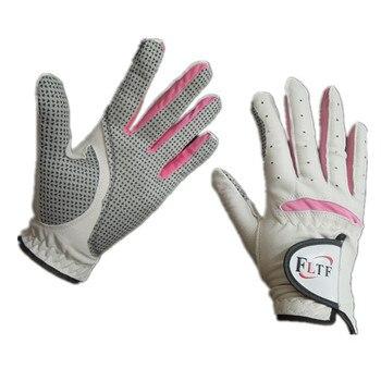 Women's Golf Gloves Ladies Right-handed Lh Rh Golfer Rain Grip All Weather Golf Gloves Finger Sheepskin gloves