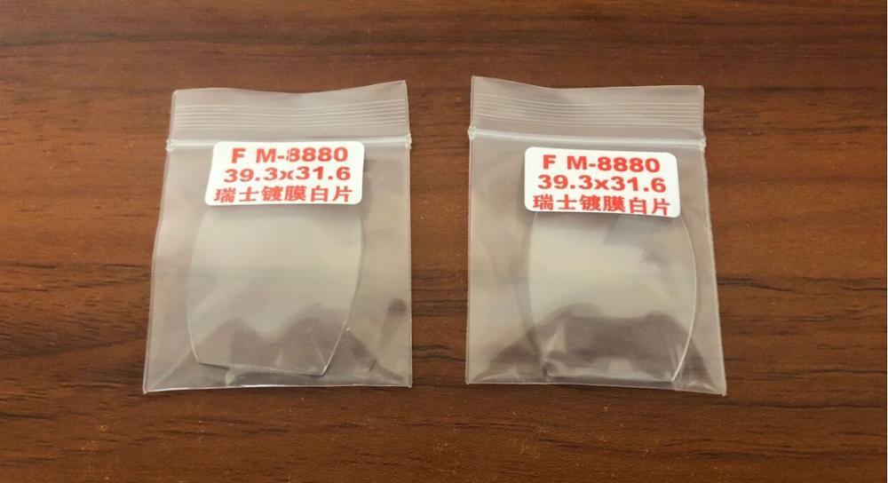 Peça de Substituição para fm 5850 Clear Assista Vidro Cristal Novo 8880