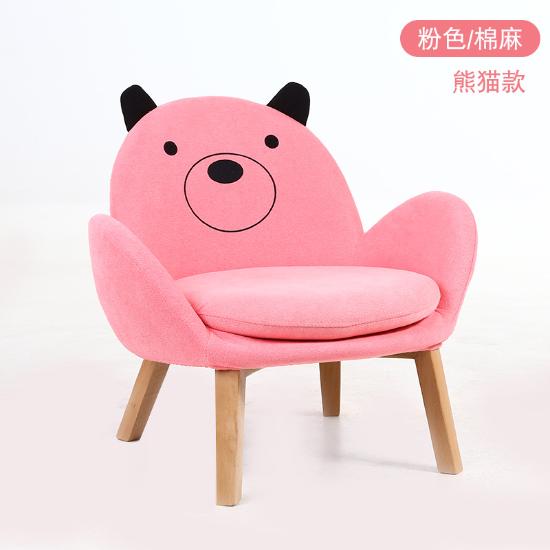 Nordic Style Children's Sofa Seats CartoonLovely Kindergarten Princess Home Reading Corner Baby Sofa  Kids Decoration