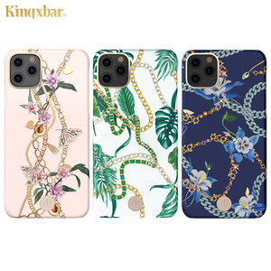 Image 2 - Original Kingxbar Chain & Crystals Elements Hard Phone Case For Apple iPhone 11/ Pro/ Max Luxury Full Protection Back Case Cover