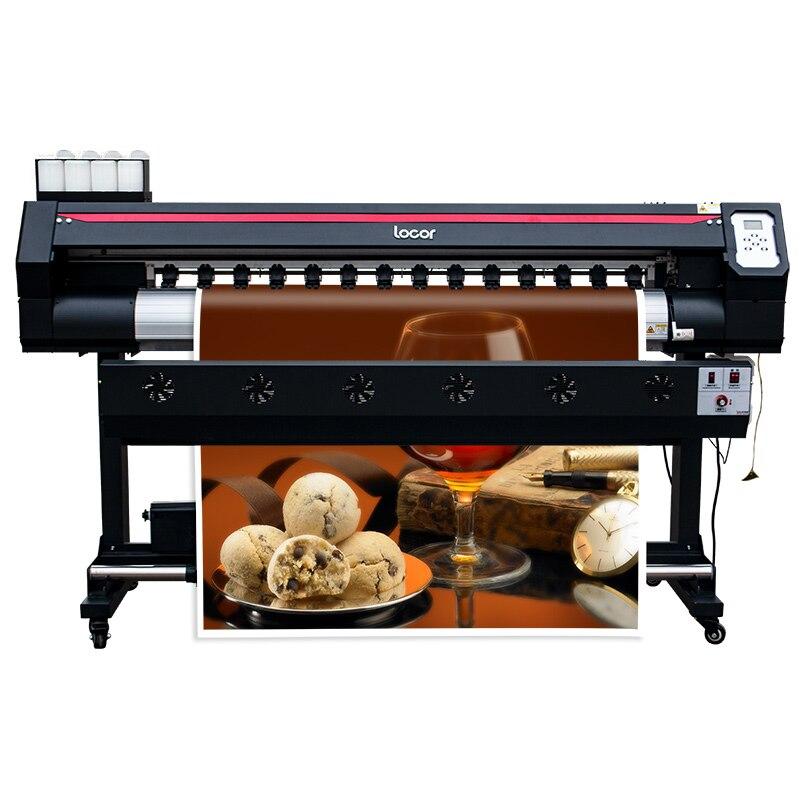 Ecosolvent Inkjet Printer Locor Easyjet DX5 DX7  Head Digital Banner Printer XP600 1.6M Large Format Sublimation Printer Plotter