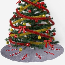 2019 New Large Sized Christmas Tree Decoration Carpet Party Ornaments for Home Non-woven Xmas Decorations
