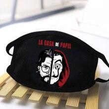 Moda dos desenhos animados impressão kawaii máscaras anti-poeira máscaras mulheres/homens de alta qualidade à prova de vento reutilizável lavável máscaras grossas
