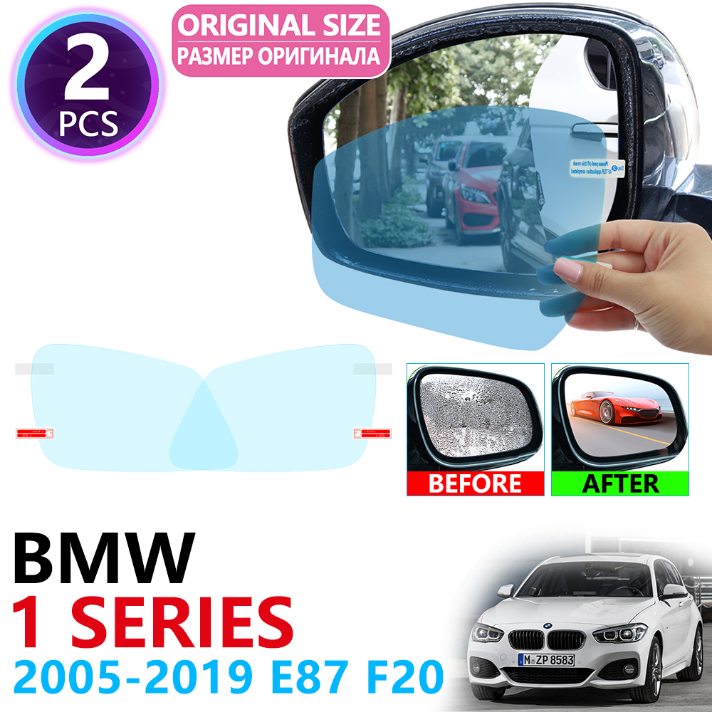 for <font><b>BMW</b></font> 1 Series E87 F20 <font><b>F21</b></font> 116i 118i 120i 125i 130i M 2005~2019 Full Cover Rearview Mirror Rainproof Anti Fog Film Accessories image