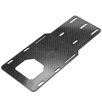 1/10 RC Crawler Battery Bracket Carbon Fiber Relocation Plate for Axial SCX10 II Ax90046